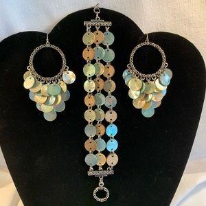 Lia Sophia Jewelry - Lia Sophia Mother of Pearl Bracelet